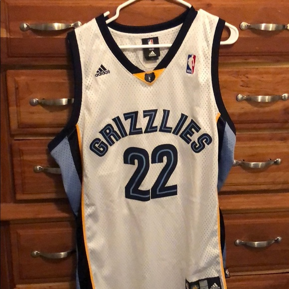 online store 9db0a 6d364 Rudy Gay Authentic Memphis Grizzlies Jersey